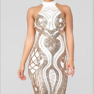 Touch of Glam Sequin Dress